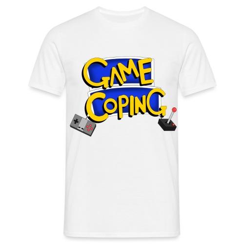 Game Coping Logo - Men's T-Shirt