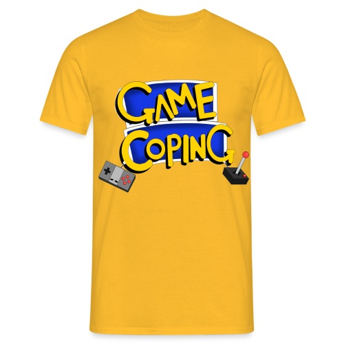 Game Coping Logo - Men's T-Shirt