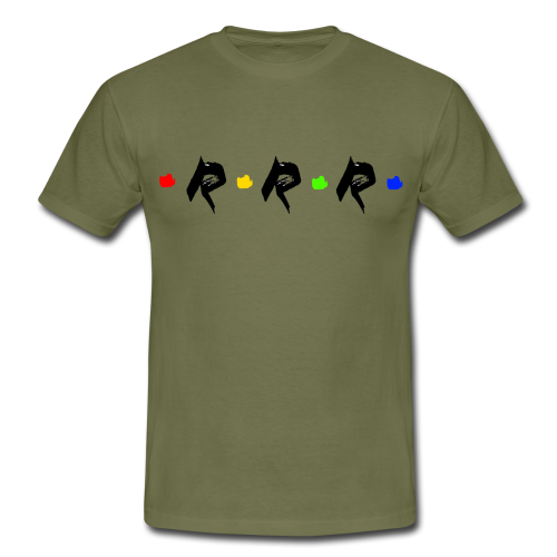 RRR - rainbow. - Männer T-Shirt