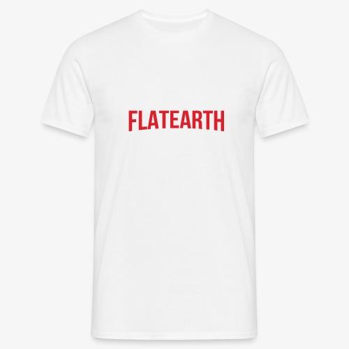 FLAT EARTH NETFLIX - Men's T-Shirt