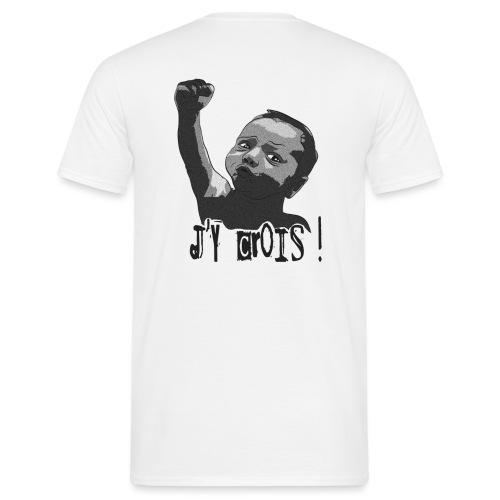 I got ze power sombre petit png - T-shirt Homme
