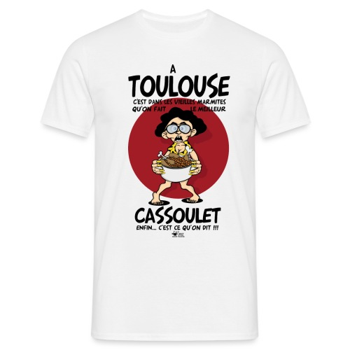 cassoulet marmite png - T-shirt Homme