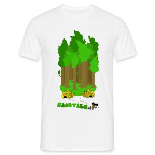 sabotage - T-shirt herr