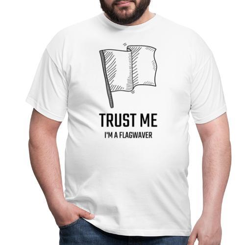Trust me flag - Maglietta da uomo