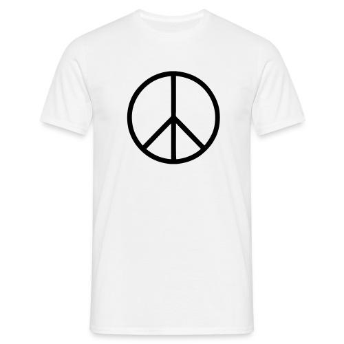peace - T-shirt herr