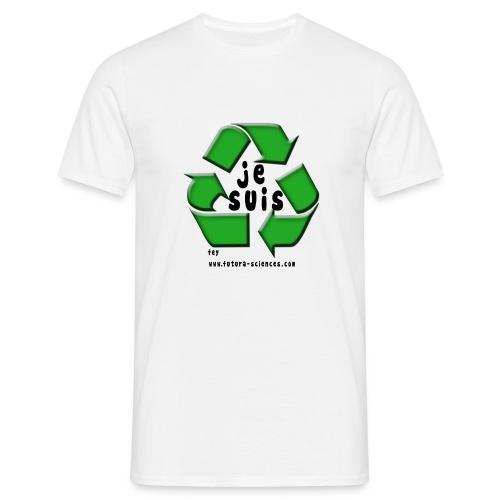 env recyclage texte noir - T-shirt Homme