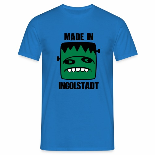 Fonster made in Ingolstadt - Männer T-Shirt