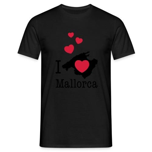 love Mallorca Balearen Spanien Ferieninsel Urlaub - Men's T-Shirt