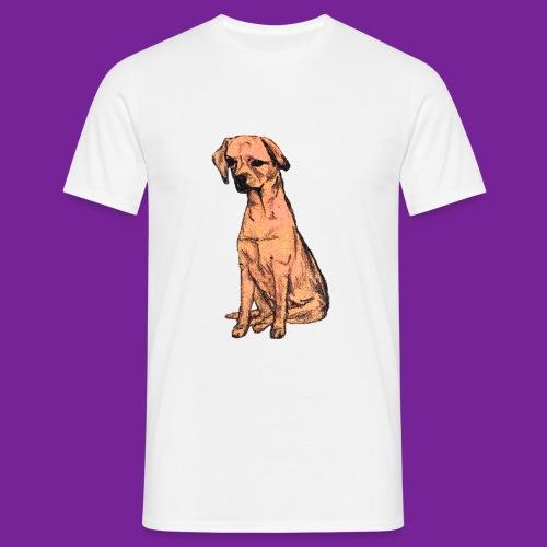 dessin chien - T-shirt Homme