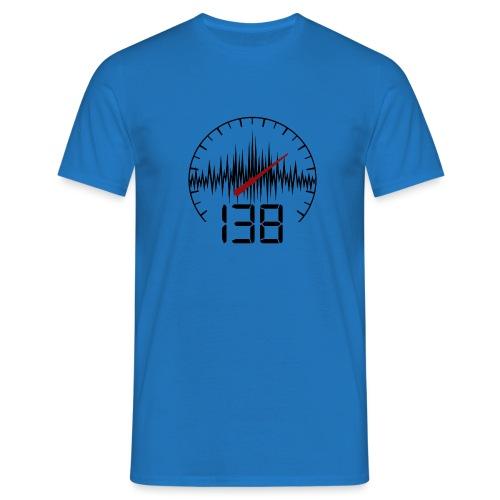 138 (Black) - T-shirt herr