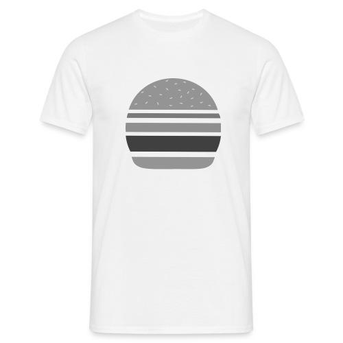 Logo_panhamburger_gris - T-shirt Homme
