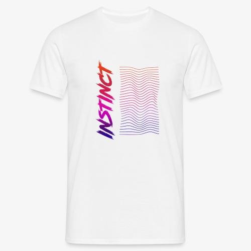 Instinct WAVE Design - Männer T-Shirt