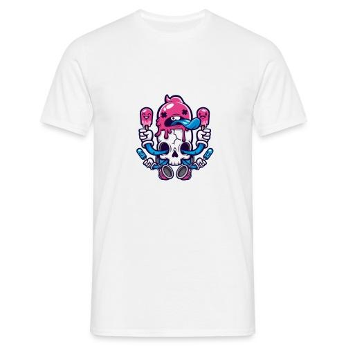 Skull Ice Cream - Camiseta hombre