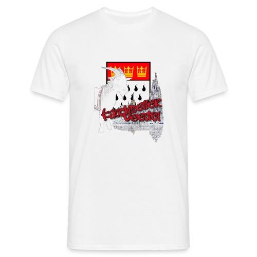 Kirchzeller Veedel png - Männer T-Shirt