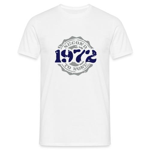 1972 Second to None - Männer T-Shirt