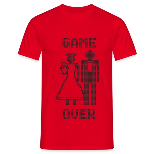 Game Over - Mannen T-shirt