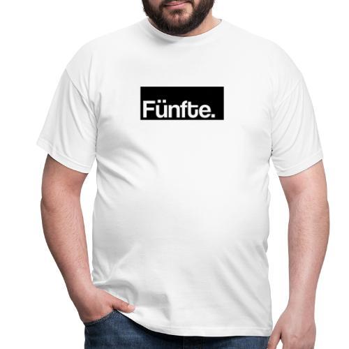 Fünfte. Boxed - Männer T-Shirt