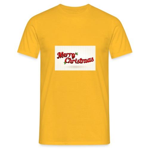 merry christmas design - Mannen T-shirt