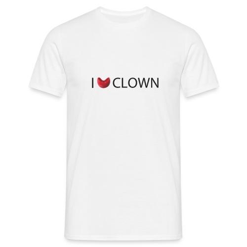 I Nose clown - Camiseta hombre