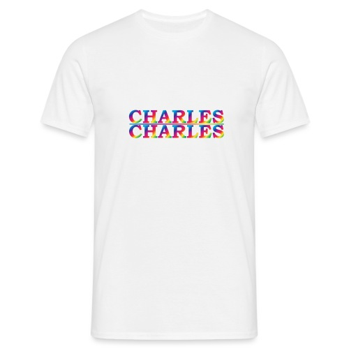 CHARLES rainbow - Men's T-Shirt