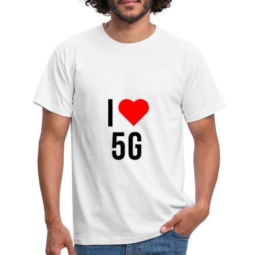 ilove5g - Männer T-Shirt