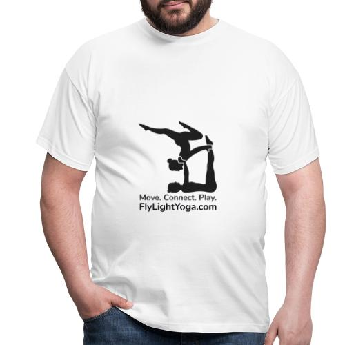 AcroYoga: Move Connect Play - Men's T-Shirt