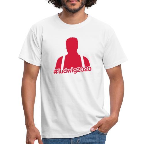 Ludwig Silhouette - Männer T-Shirt