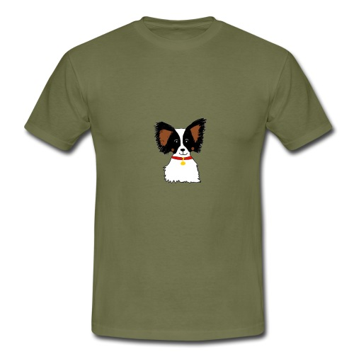 Papillon dog - Men's T-Shirt