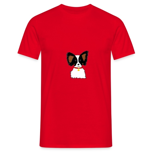 Papillon dog - Men's T-Shirt