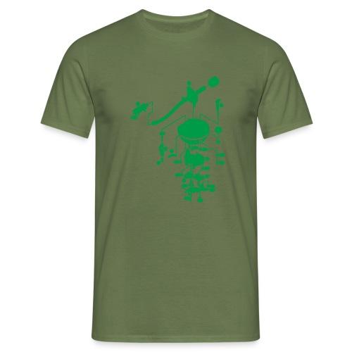 tonearm05 - Mannen T-shirt
