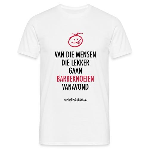 vdm-lekker-barbeknoeien - Mannen T-shirt
