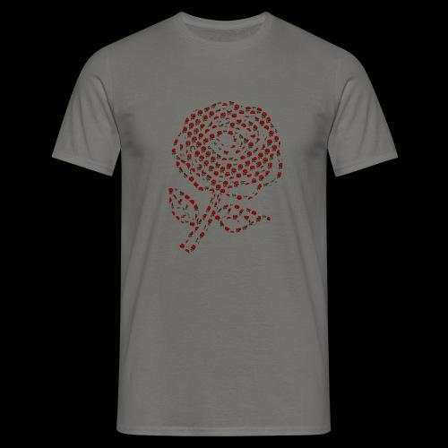 Rose aus Rosen - Männer T-Shirt