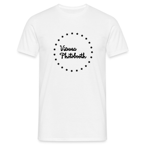 Vienna Photobooth Logo - Männer T-Shirt