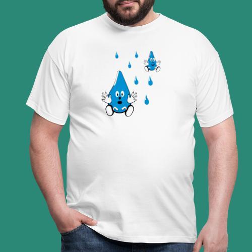 Tropfen - Männer T-Shirt