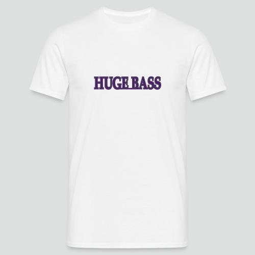 Huge Bass-№1 - Männer T-Shirt