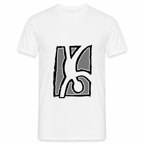 Capoeira: Hand stand - Men's T-Shirt