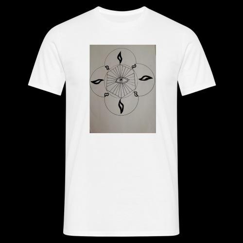 Luminous Eyes - T-shirt Homme
