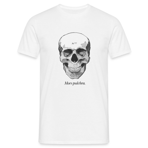 Mors Pulchra black - Men's T-Shirt