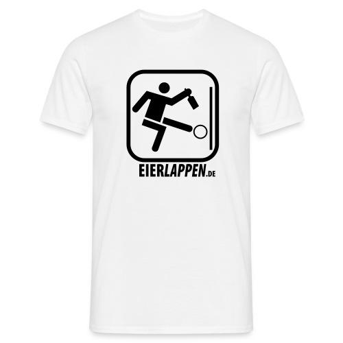 eierlappenshirtdomain - Männer T-Shirt