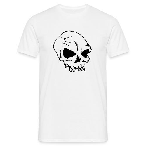 skull - T-shirt herr