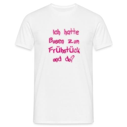 Frühstück - Männer T-Shirt