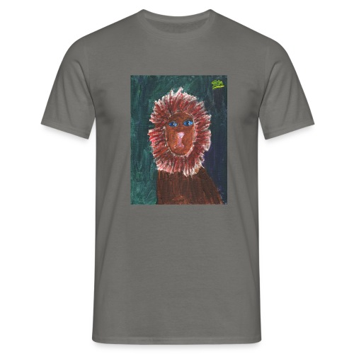 Lion T-Shirt By Isla - Men's T-Shirt