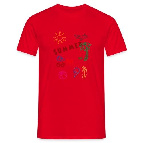 Summer - Miesten t-paita