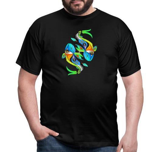 Regenbogenfische - Männer T-Shirt