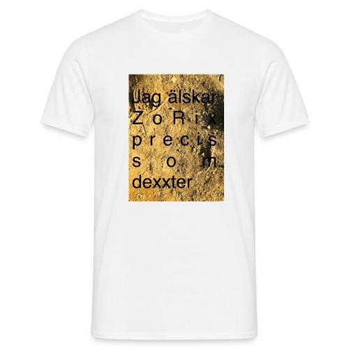 jag älskar dexxter - T-shirt herr