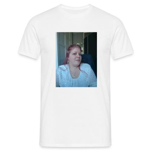 hier ben ik - Mannen T-shirt
