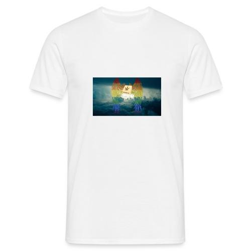 ButterFlyR3adyt0Eat - Männer T-Shirt
