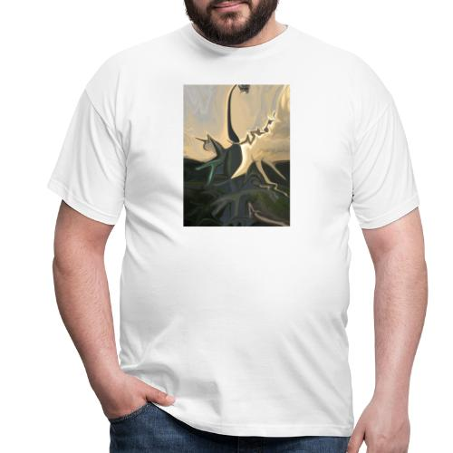 Katze Tatze - Männer T-Shirt