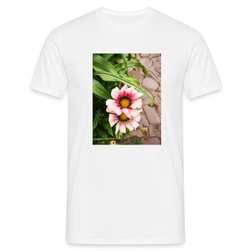 FLORES ROSAS - Camiseta hombre