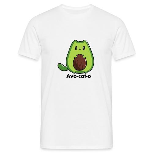Gatto avocado - Avo - cat - o tutti i motivi - Maglietta da uomo